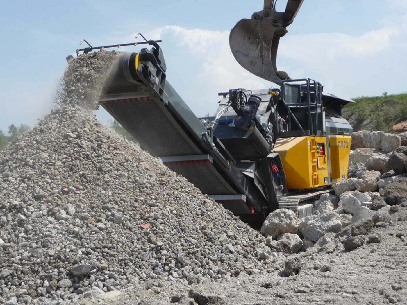 Nuove vie per la costruzione stradale rubble master for Nuove planimetrie per la costruzione di case