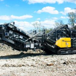 RM 120GO! crushing limestone